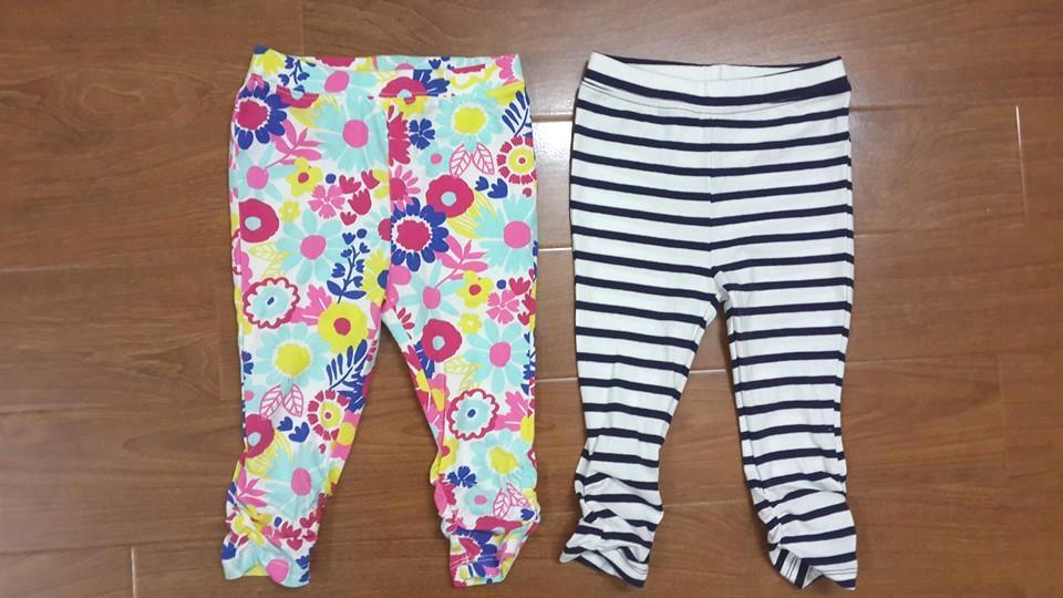 QG105 Legging baby gap xuất xịn. Size 1 đến 5t. Tỷ lệ kẻ nhiều.