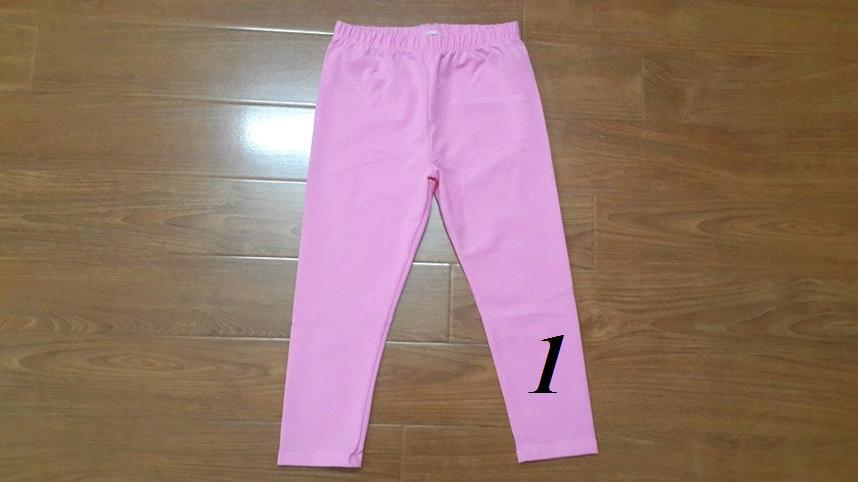 QG107. QUẦN LEGGING SIZE TRUNG 5-10t. 1 ri 5 là 1 màu. Made in Vietnam.