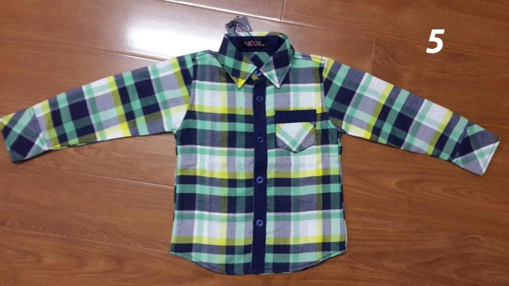 AT152. SƠ MI CAO CẤP NEXXI BT. Size 80-150 (2t - 8/9t) 1 ri 8 áo là 1 màu.