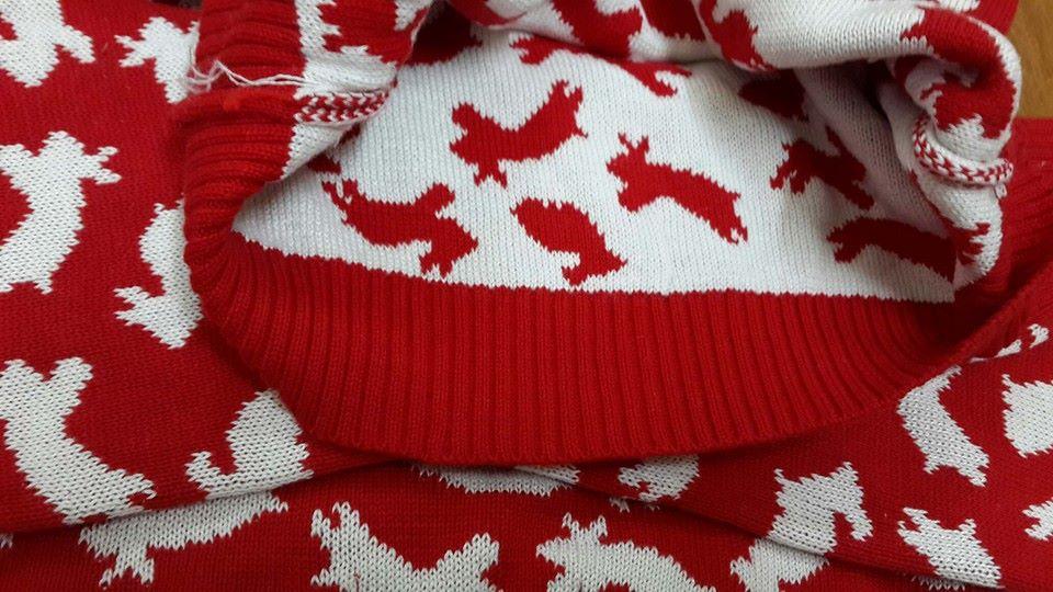 AG169. 1 ri 12 áo trộn. Len dệt 2 mặt dày dặn, mềm. HÀNG QUÁ ĐẸP