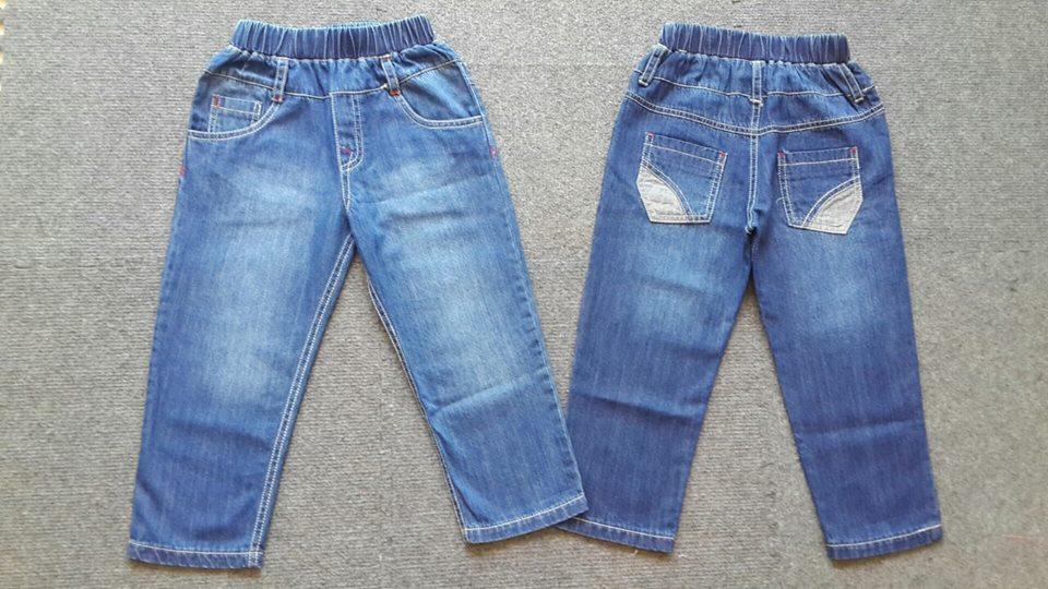 QT105: GIÁ TỐT. QUẦN BÒ MỀM ZARA NHÍ BT. Made in Vietnam. Size 1 - 5t. 1 ri 5 quần
