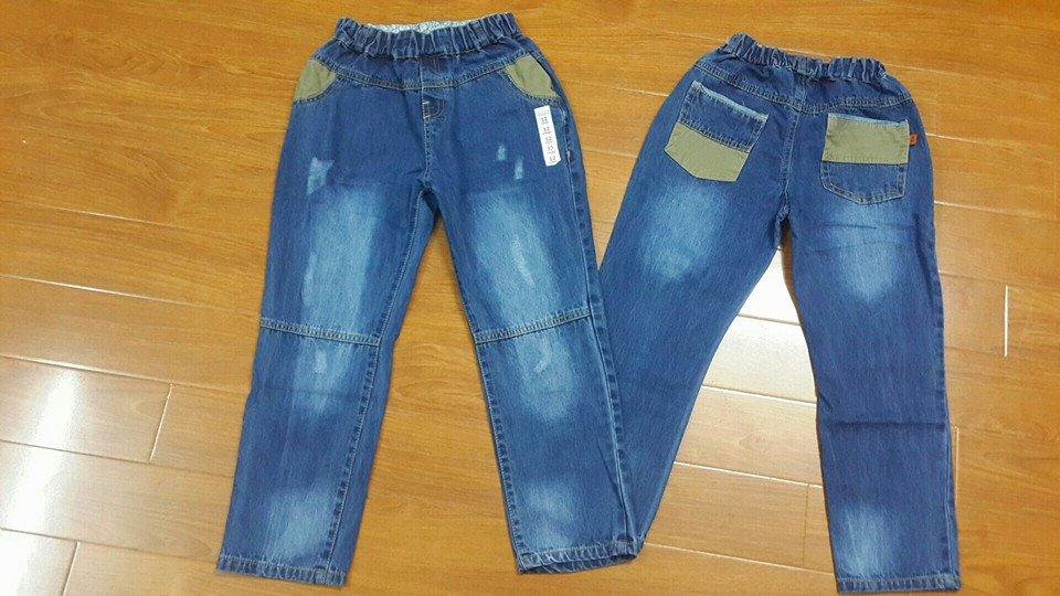 QT126. QUẦN BÒ BT SIZE ĐẠI. Made in Vietnam. Size 11-16t. Ri 6 quần. Chất bò mềm 1 lớp dày dặn