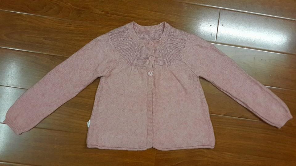 AG200:( Hình này là áo HM: 7c) ÁO KHOÁC LEN HM/ NEXT. Sz 2 - 5t. Ri 7 cái . CAMBODIA XUẤT XỊN