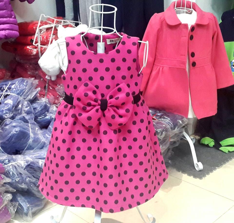 V120: Váy dạ mềm đẹp/ Kiểu dáng xinh xắn. Made in Vietnam.
