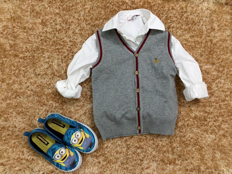 808 - Size 1t đến 6t. 1 ri 12 áo đủ 2 màu đủ size - Len mềm mịn, không khô