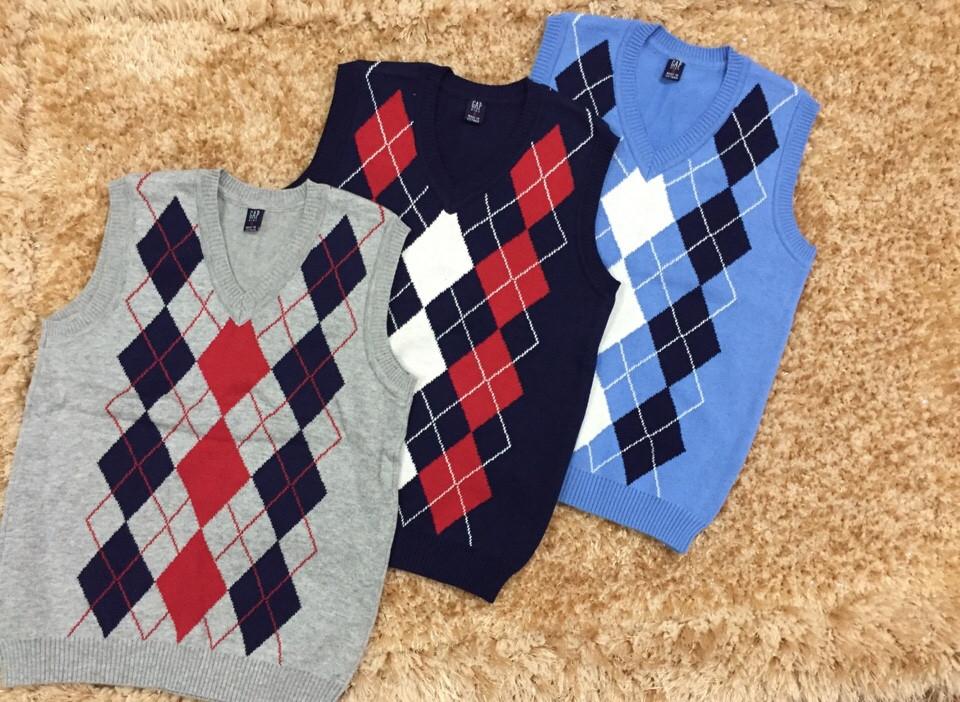 1103: ÁO LEN TRÁM GILE BT CỰC ĐẸP - Size đại 6t - 12t. 1 ri 15 áo đủ 3 màu đủ sz